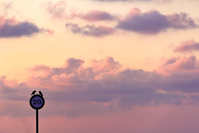 Expresar con nubes, foto de Carlos Larios
