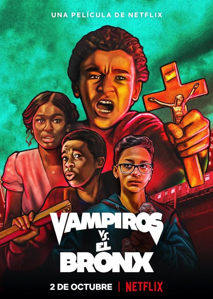 Trailer de la nueva locura de Netflix: Vampires vs the Bronx