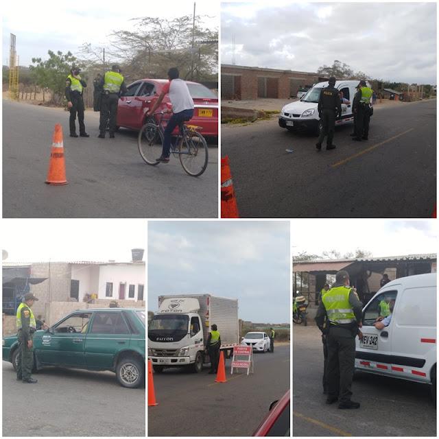 2418 sancionados en La Guajira por violar el Aislamiento Preventivo Obligatorio
