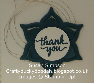 Stampin' Up! UK Independent  Demonstrator Susan Simpson, Craftyduckydoodah!, Eastern Palace Suite, May 2017 Coffee & Cards Project, Supplies available 24/7 from my online store,