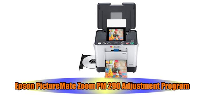 Epson PictureMate Zoom PM 290 Printer Adjustment Program