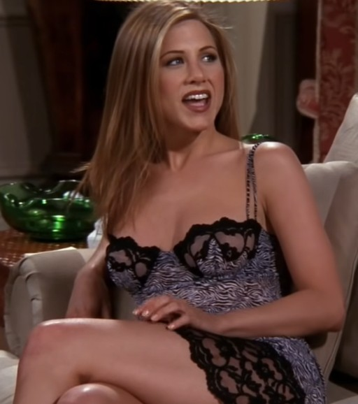 Jennifer Joanna Aniston in Friends S4E18