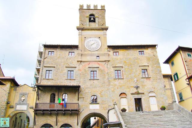 Piazza della Repubblica de Cortona, Toscana
