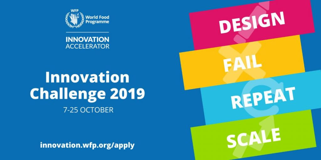WFP Innovation Accelerator 2020 for Solutions to Hunger