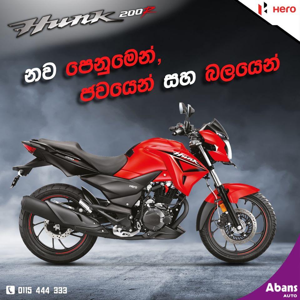 Hero Hunk 200r Sri Lanka