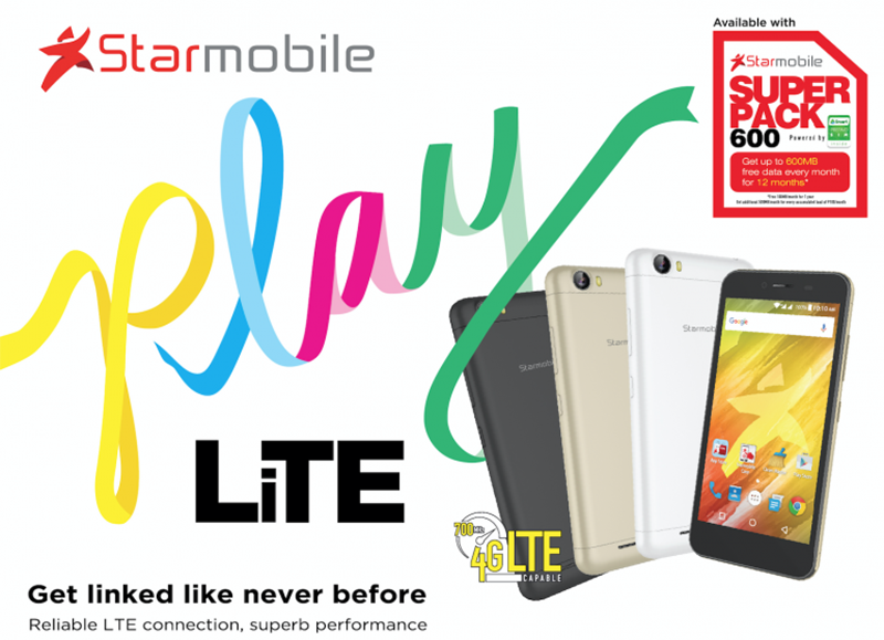Starmobile Play Lite With 700 MHz LTE Announced, Priced At PHP 3999!