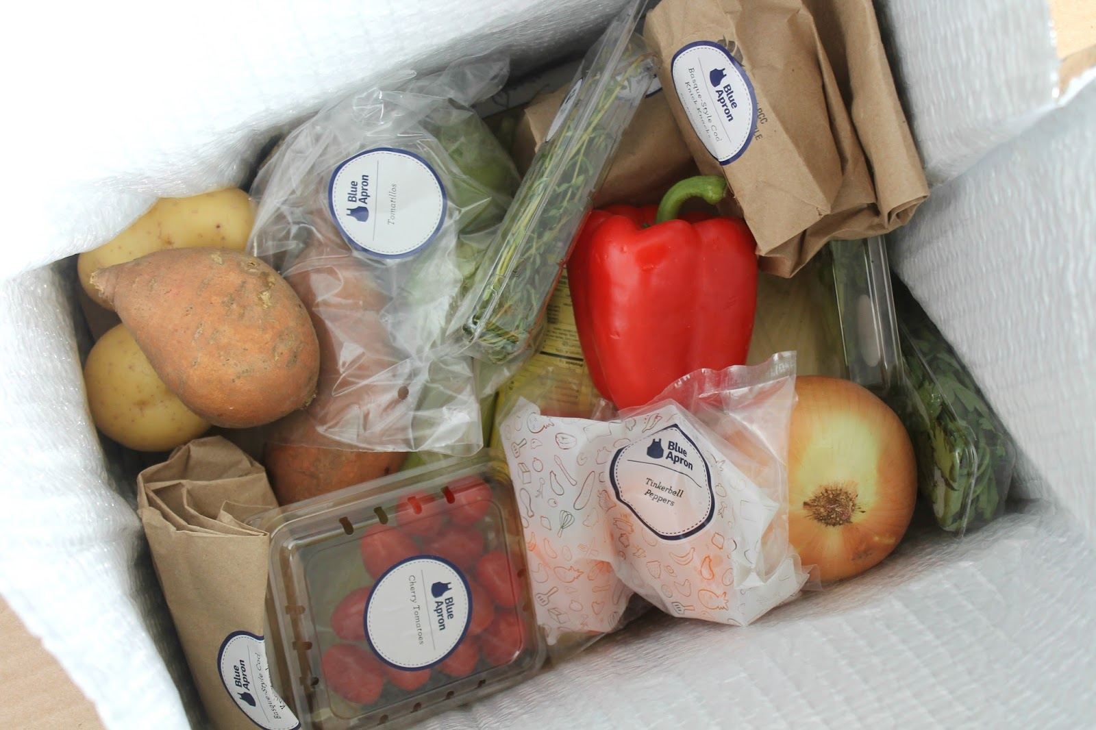 Blue apron working conditions - Packaging I Found This To Be The Biggest Difference Between The Services