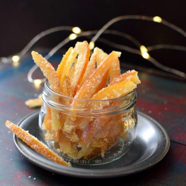 Receta para preparar naranjas confitadas fáciles