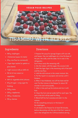 tiramisu vegan berries