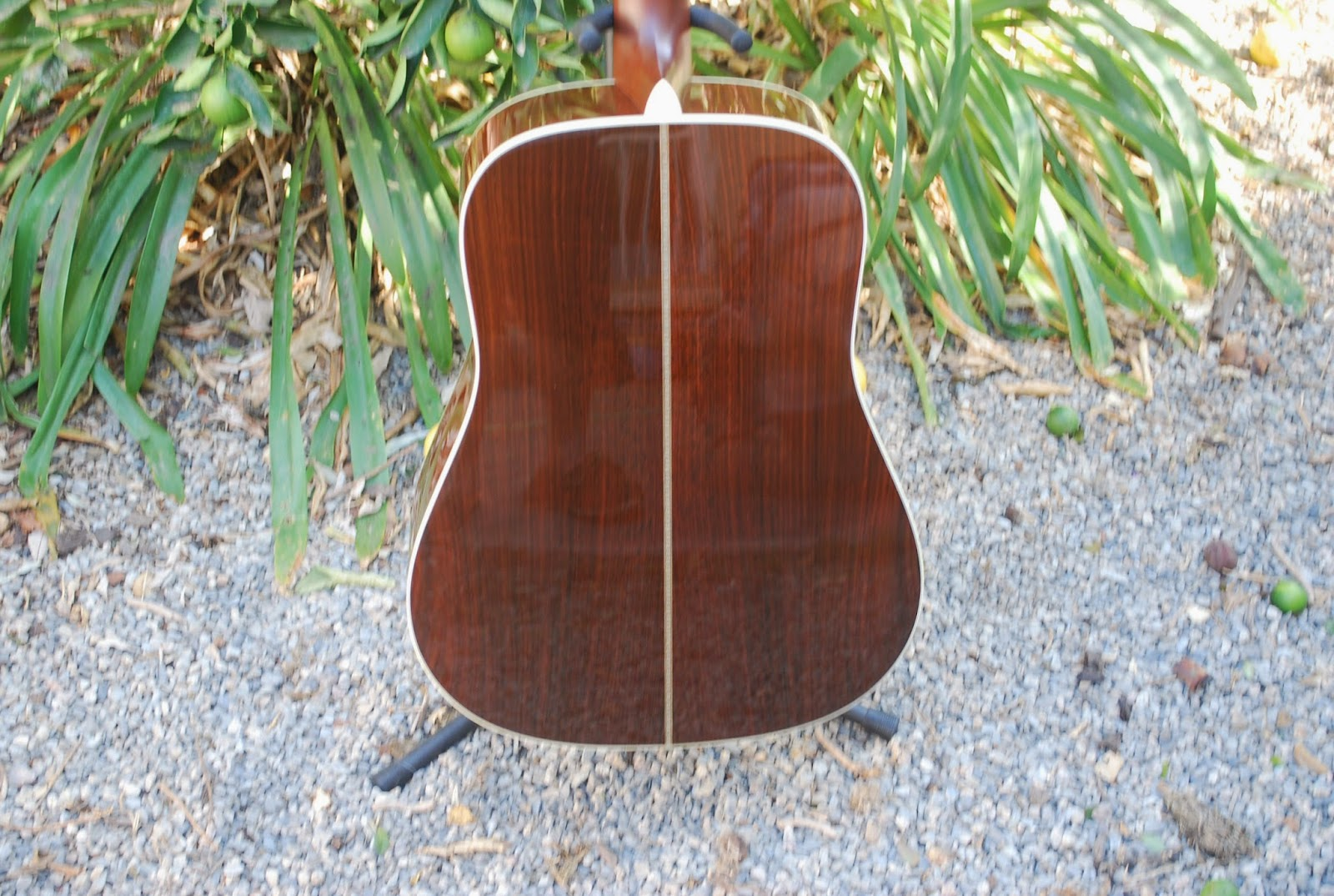 Rex and the Bass: 2008 Martin HD-28V Custom Acoustic Guitar