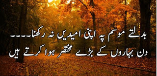 Badaltay Mousam pay Apni Umeedain Na Rakhna | Sad Urdu Poetry - Urdu Poetry Lovers