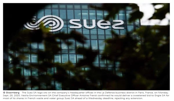 Suez says Veolia's talk failed, takeover bid is still hostile