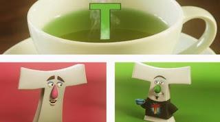 A white letter T sings Plain White T's Song. Sesame Street Alphabet Songs