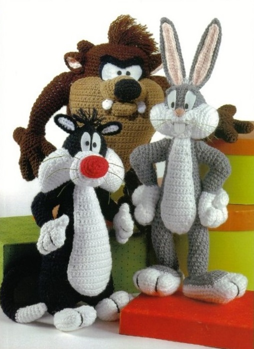CANAL CROCHET: Mickey y minnie amigurumi tutorial | 699x509