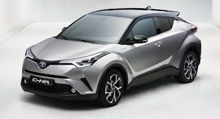 sitecarscoops 2017 Toyota C-HR: Here It Is In All Its Glory