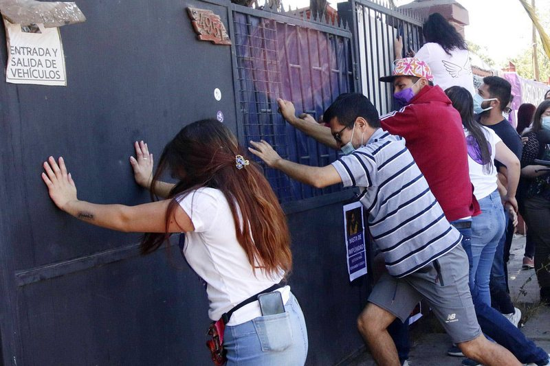 Detalles de la dura reconstitución de escena por muerte de Fernanda Maciel
