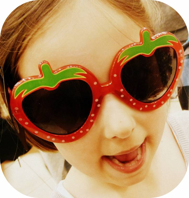 How Much Fun Are These Sunglasses!? Silent Sunday