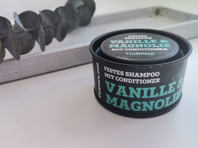Tinktura tvrdi čvrsti šampon 2 u 1 vanilija magnolija