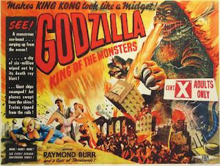 Póster película Godzilla, King of the Monsters