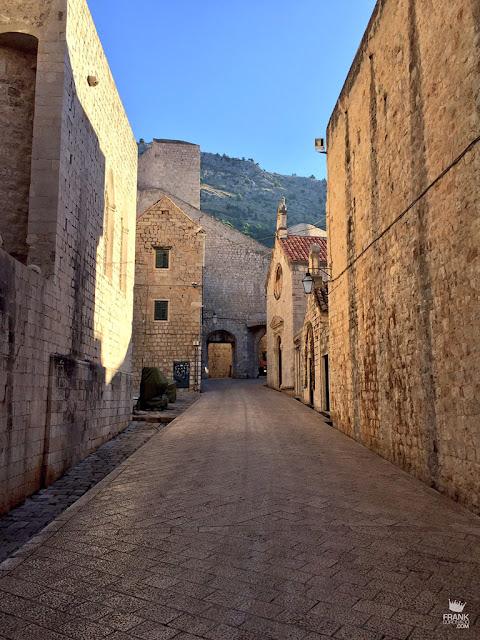 calle de game of thrones en dubrovnik croacia
