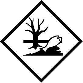 Environmentally Hazardous Substances Hazmat Placard