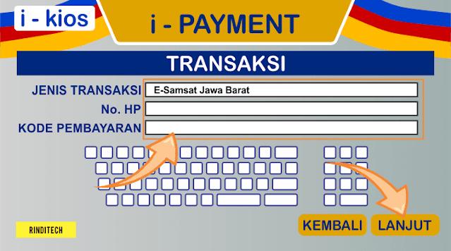 Cara Perpanjang STNK Online di Jawa Barat (via. Indomaret)
