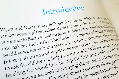 Childrens book review aliens save the Earth wyatt and kamryn text example