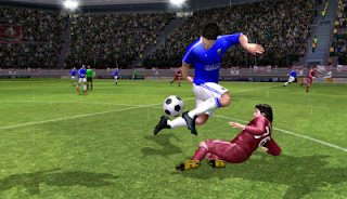 Game bola Android apk data obb