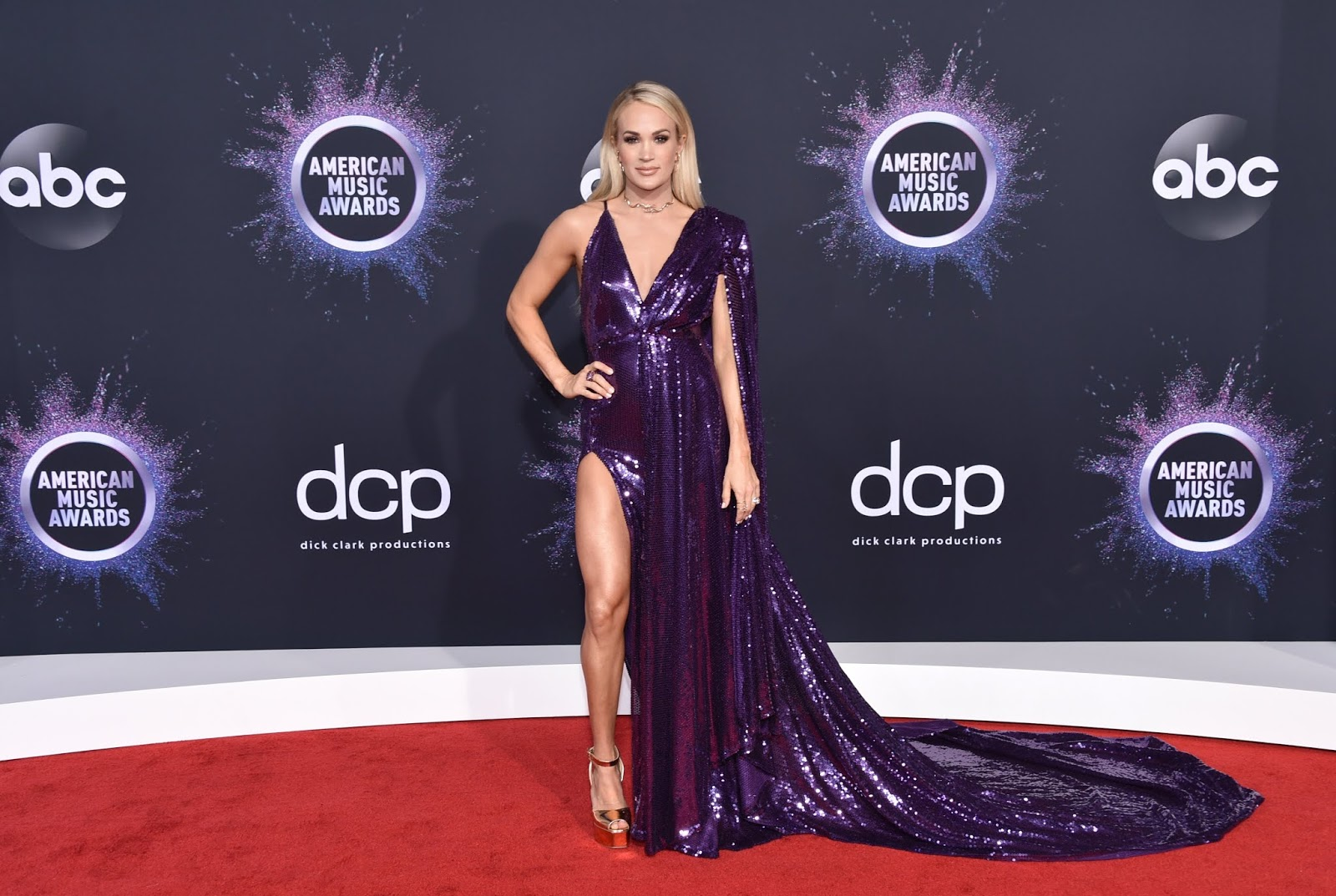 Carrie Underwood at the 2019 #AMAs