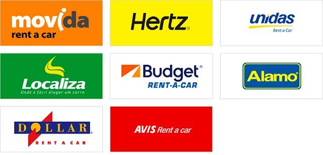 Empresas de aluguel de carro em Sonoma