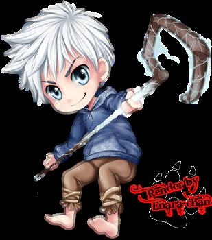 Jack Frost Chibi  BY  Enara-chan