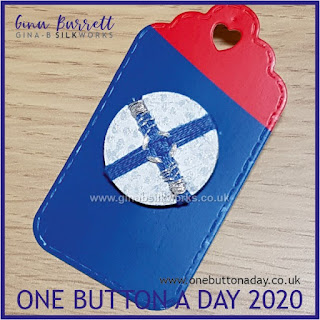 One Button a Day 2020 by Gina Barrett - Day 142 : Juncture