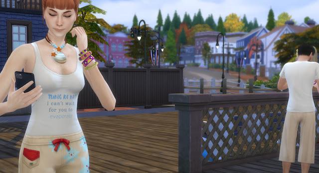 Sims 4 Pinoy Stuff Pack Hugot Swimwear