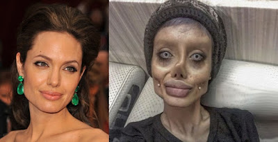 Sahar Tabar, Angelina Jolie Versi Gagal