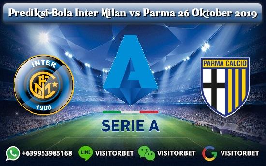 Prediksi Skor Inter Milan vs Parma 26 Oktober 2019