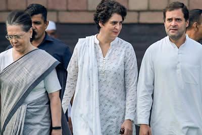 Rahul Sonia Priyanka