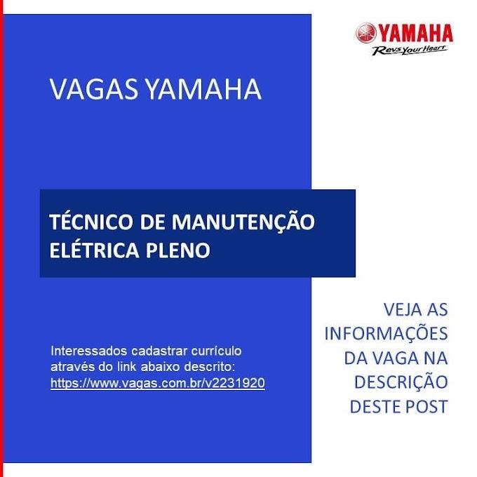 Yamaha contrata: