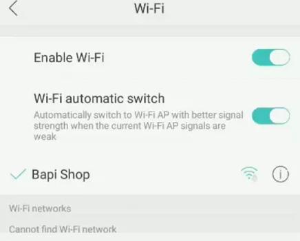 Cara Mengatasi Masalah Wifi DI Oppo A83  3