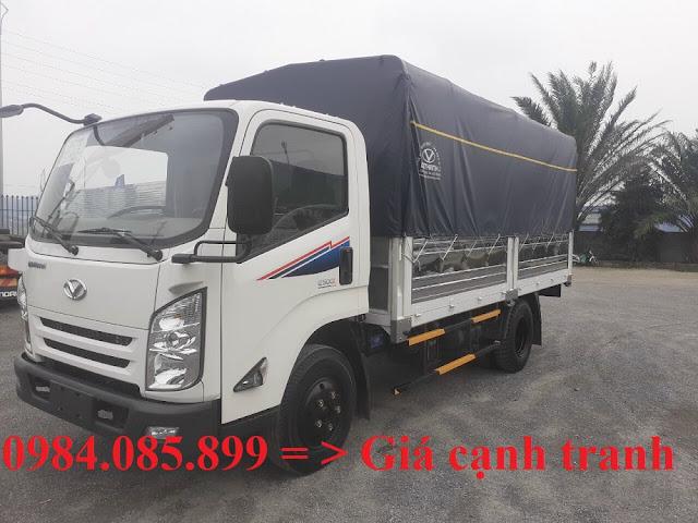 Xe tải 5 tấn IZ500 thùng bạt