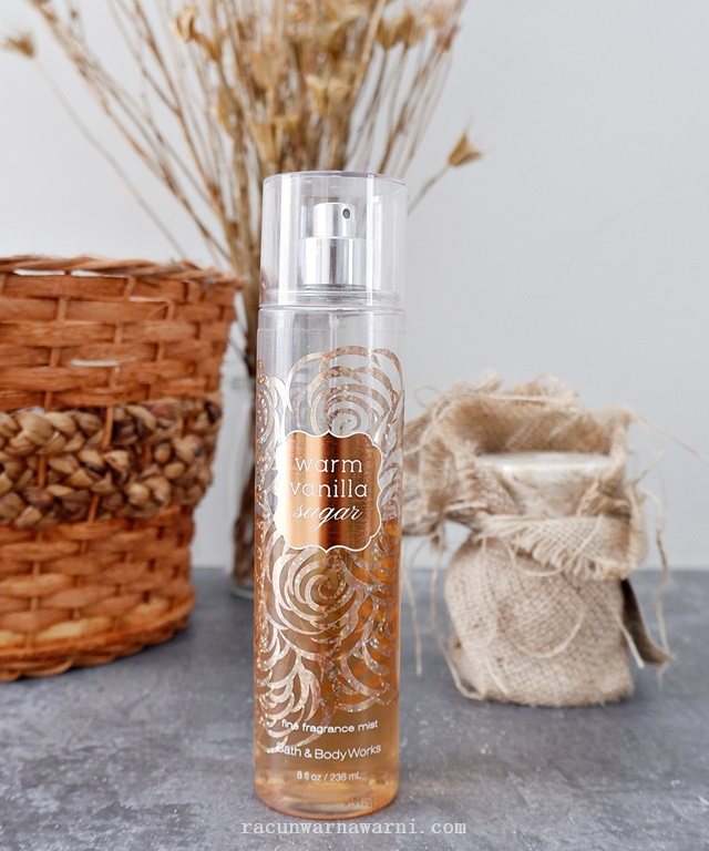 Review Bath & Body Works Warm Vanilla Sugar Fine Fragrance Mist