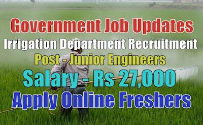 Irrigation Department Recruitment 2020
