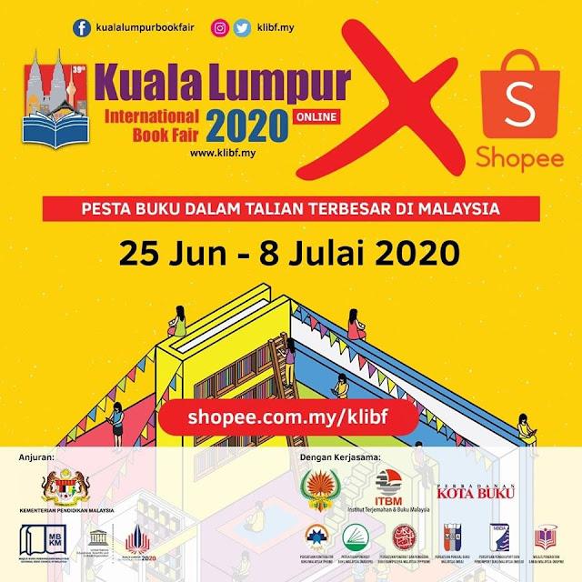 Pesta Buku Antarabangsa Kuala Lumpur 2020 Akan Berlangsung Secara Online