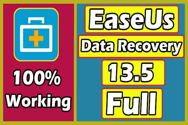 Download EaseUs Data Recovery Wizard 13.5 Serial Key 2020