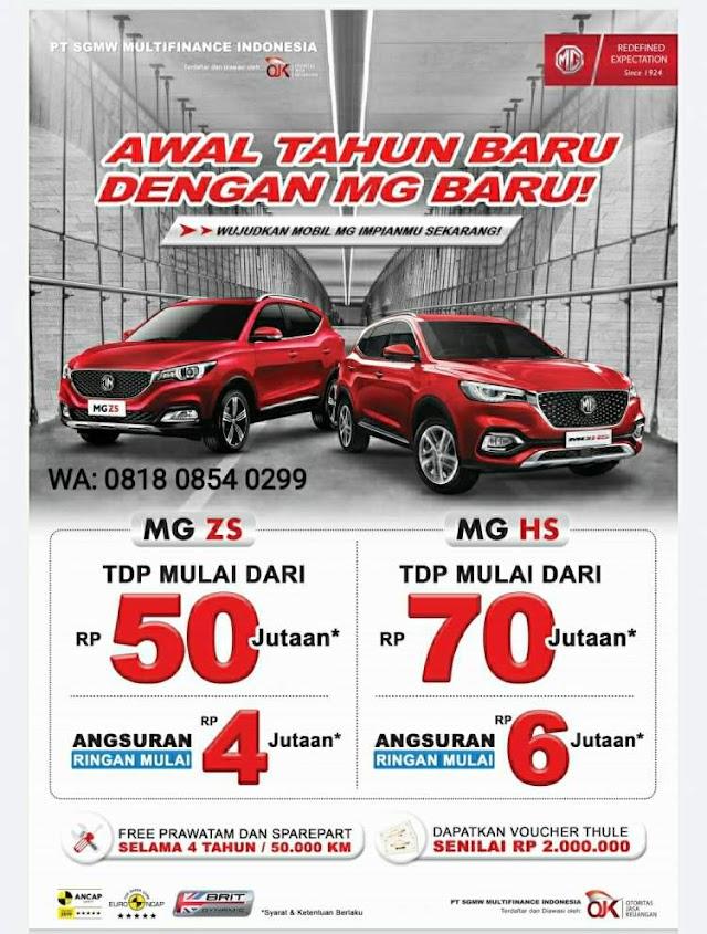 Promo Kredit Mobil MG Jakarta Timur