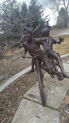 Benson Sculpture garden,  Loveland