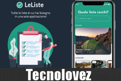 LeListe –  Applicazione con liste precompilate per non dimenticare nulla