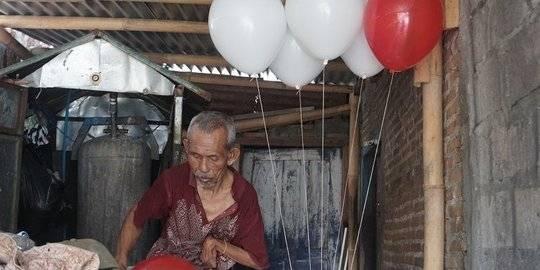 Kisah Kakek Penjual Balon, Penghasilan Minim Tapi Rajin Beri Makan Anak Jalanan