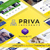 Priva Insurance Company Website Template + RTL Support