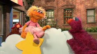 Zoe, Telly, Sesame Street Episode 4311 Telly the Tiebreaker season 43
