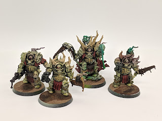 Painting the Death Guard, my AoP winning Army
